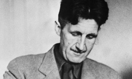 George Orwell, English writer