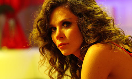 Anna Friel as Dee in episode two of The Street