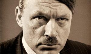 Richard Herring Hitler Moustache poster
