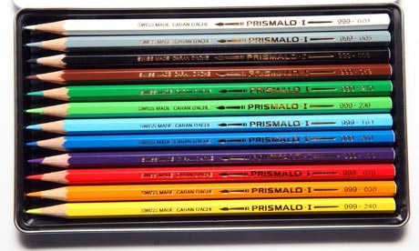 Caran D'Ache Prismalo Aquarelle colour pencils