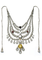 Patiala necklace, made by Cartier Paris in 1928 for the Maharaja of Patalia