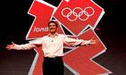 Lord Sebastian Coe unveils the London 2012 Olympics logo