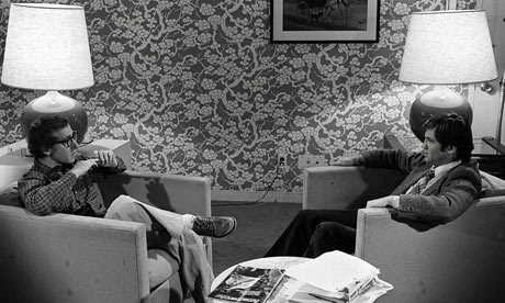 Woody Allen meets Melvyn Bragg on the South Bank Show, 1978