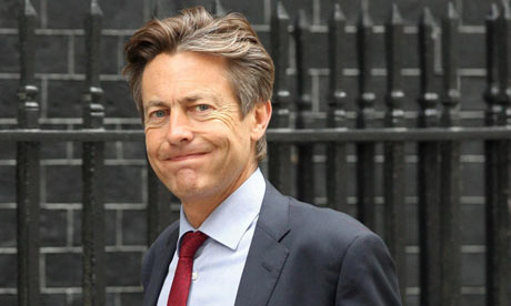 Culture Secretary Ben Bradshaw arriving at 10 Downing Street, London