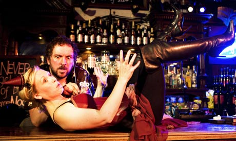 Keith Fleming and Gail Watson in Barflies by Grid Iron at the Edinburgh festival