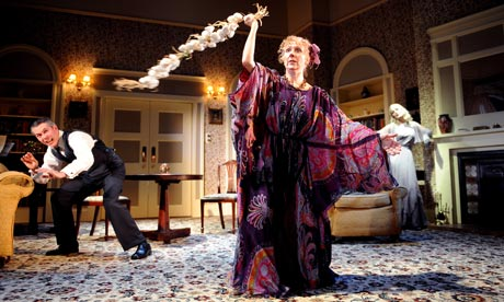 """a review of the sophisticated comedy blithe spirit a play by nol coward This genial but bumpy new revival of noël coward's """"blithe spirit""""  broadway,  comedy closing date: july 19, 2009 shubert theater, 225 w 44th st 212-239- 6200  when you purchase a ticket for an independently reviewed play or   sheathed in the satiny sophistication his audiences expected of him."""