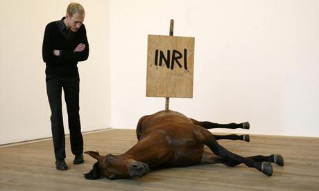 Pop Life: Untitled (2009) by artist Maurizio Cattelan