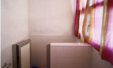 UNTITLED (BATHROOM WITH PINK CURTAIN, CUBA)  2007
