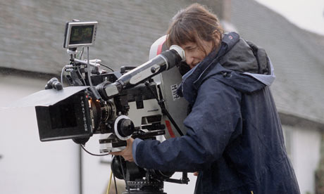 Beeban Kidron filming Bridget Jones