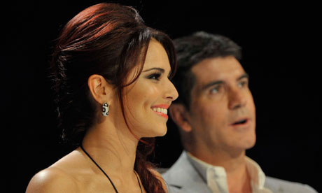 The X Factor Cheryl Cole and Simon Cowell