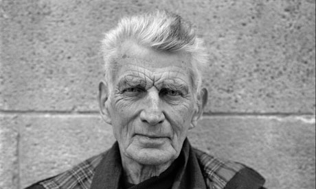 Samuel Beckett in 1986. But which politician looks to the absurdist for inspiration?