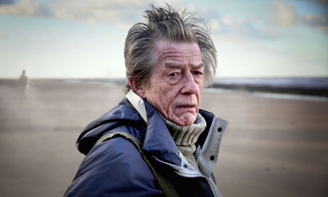 John Hurt as James Parkin in the BBC's Whistle and I'll Come to You. BBC2, 9pm, 24 December.