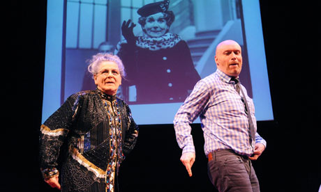 Bette Bourne and Mark Ravenhill in A Life in Three Acts at Soho Theatre
