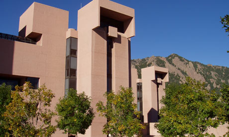 the National Centre for Atmospheric Research, in Boulder,  Colorado