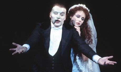 Michael Crawford and Sarah Brightman in The Phantom of the Opera, 1986