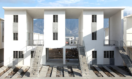 Monterrey social housing, designed by architect Alejandro Aravena