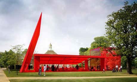 Serpentine Gallery Pavilion 2010, designed by Jean Nouvel