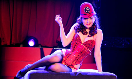 Miss Polly Rae, the All New Hurly Burly Show at Leicester Square Theatre
