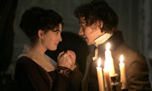 Becoming Jane - Anne Hathaway and James McAvoy