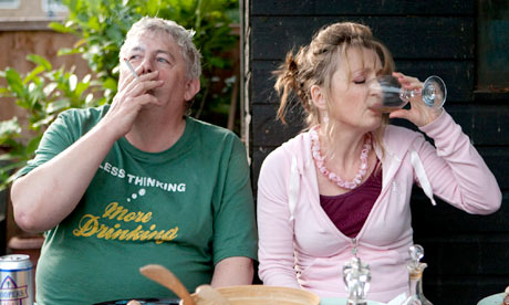 Lesley Manville and Peter Wright in Another Year by Mike Leigh