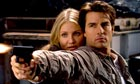 Cameron Diaz and Tom Cruise in a scene from Knight and Day