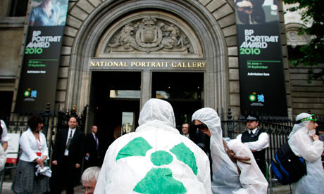 bp tate protest