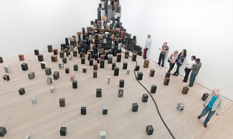 John Wynne's installation of 300 speakers