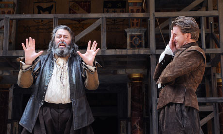 Roger Allam as Falstaff and Jamie Parker as Prince Hal