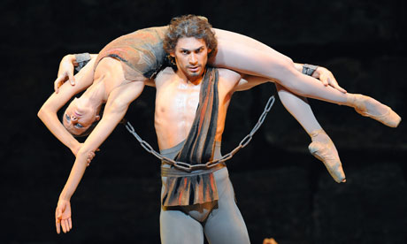 Ivan Vasiliev and Nina Kaptsova in Spartacus