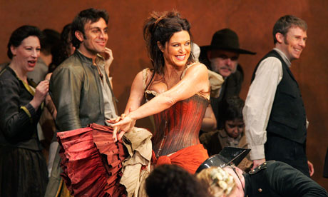 Anna Caterina Antonacci in Carmen at the Royal Opera House in 2006