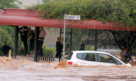 Flooding in Toowoomba, Australia