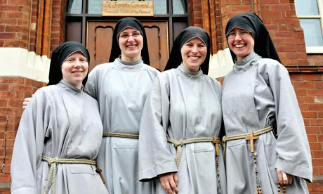 Medieval Nuns Clothing http://www.guardian.co.uk/lifeandstyle/2011/oct/20/young-nuns-life-vow