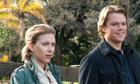 Scarlett Johansson and Matt Damon in We Bought a Zoo, a film by Cameron Crowe