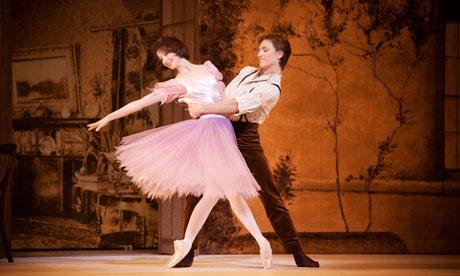 Lauren Cuthbertson and Sergei Polunin inAlice's Adventures in Wonderland