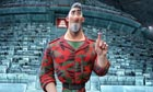 Pointing the way … Steve, voiced by Hugh Laurie, in Aardman's Arthur Christmas.