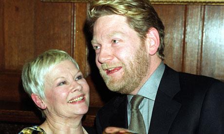 Judi Dench and Kenneth Branagh in 2000
