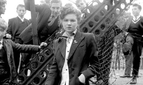 Ken Russell's photograph of Jean Rayner from The Last of the Teddy Girls