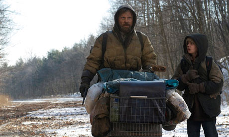 Post-apocalyptic visions ... Viggo Mortensen and Kodi Smit-McPhee in the film adaptation of Cormac McCarthy's The Road