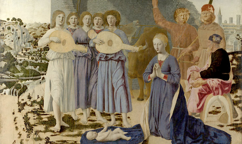 Piero della Francesca, The Nativity (1470-75)