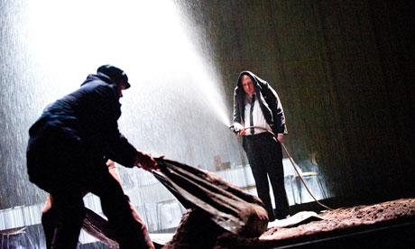 Lars Eidinger as Hamlet
