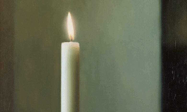 Gerhard Richter's Candle (1982)