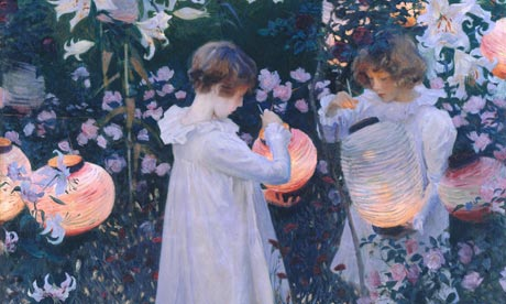 Flower children … John Singer Sargent's Carnation, Lily, Lily, Rose (1885-6).