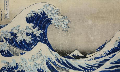 High tide … Katsushika Hokusai's The Great Wave (1830-33), currently on show at the British Museum.