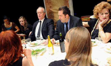A scene from  August Osage County at the Lyttelton, National Theatre