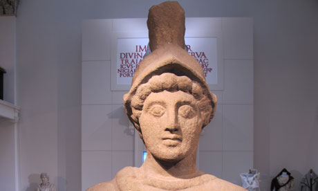 Statue of Mars at Yorkshire Museum