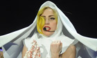Lady Gaga in nun's habit