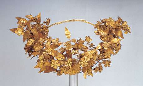 The Macedonian queen's wreath, which reduced Robin Lane Fox to tears