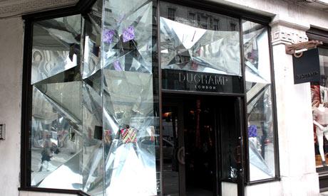 Honey's design for Duchamp on Regent Street