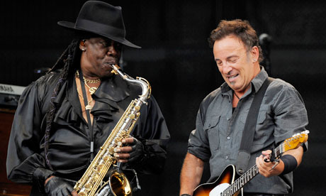 bruce springsteen clarence clemons silhouette. wallpaper aware of Clarence Clemons, ruce springsteen clarence clemons.