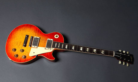 1959 gibson les paul sunburst. Gibson Les Paul electric